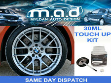 BMW DECOR SILVER 2 - B20 ALLOY WHEEL TOUCH UP PAINT 30ML CURB SCRATCH M SPORT