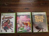 Xbox 360 lot 3 Burger King games Big Bumpin Pocketbike Sneak King Unused