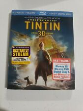The Adventures of Tintin (Blu-ray/DVD, 2012, 3-Disc Set, Includes Digital Copy …
