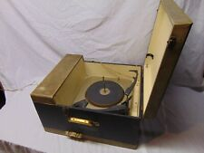 Vintage Philco Twin H-Fi Speakers Record Player in box 16 33 45 78 USA 19 x 16