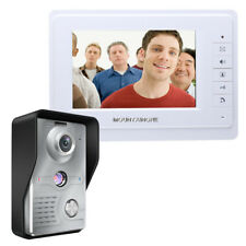 "7"" Video DoorPhone Doorbell Intercom Kit 1-camera 1-monitor Night Vision 700TVL"