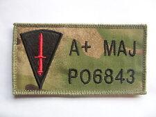 COMMANDO DAGGER TRF ZAP BADGE MTP ADMIN PANEL BERGAN ARMY RAF RN