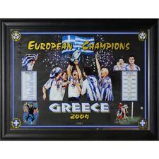 Soccer European Championship Greece 2004 Framed