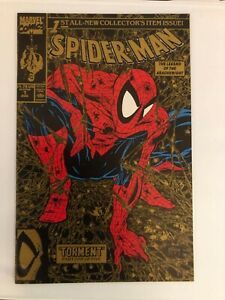 SPIDER-MAN #1 GOLD EDITION NM 1990 Collector's Item Issue 18776