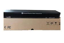 16 Channels Passive CCTV Camera Video Balun (Video Transceiver) UTP Transceiver