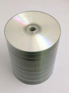 100 Stück CD-R Audio 52x Rohlinge 700MB mit Druckfehlern für Audio-CD-Recorder