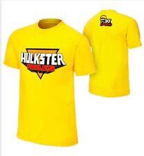 "WWE WWF Hulk Hogan Mens ""Hulkster Rules"" Retro Authentic T-shirt New Size XL"