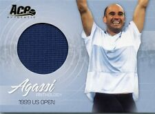 2006 ACE AUTHENTIC ANDRE AGASSI ANTHOLOGY 1999 US OPEN MATCH WORN JERSEY
