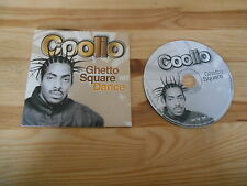 CD Hiphop Coolio - Ghetto Square Dance (2 Song) MCD DRAGON RIDERS ZYX cb
