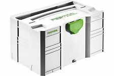 Festool MINI-SYSTAINER SYS-MINI 3 TL 202544 FREE FIRST CLASS DELIVERY