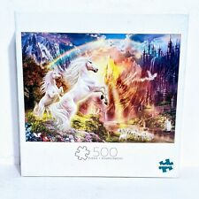 "Buffalo Jigsaw Puzzle 500 Pieces ""Unicorn Sunset"""