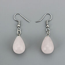 1 Pair Women Water Drop Natural Stone Pendant Dangle Earring Ear stud