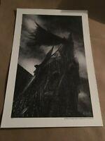 Mark Chilcott - Gothic (Bottleneck Art Gallery) Batman Art Print