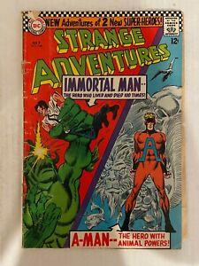Strange Adventures #190 Comic Book 1st App of Animal Man in Costume