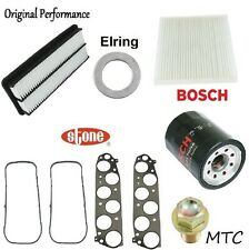 Tune Up Kit Oil Air Fuel Filters Gaskets for Honda Accord V6; 3.0L 2006-2007