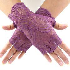 Gothic Punk Spider Gloves NEU LEG AVENUE Armstulpen mit Spinnennetz