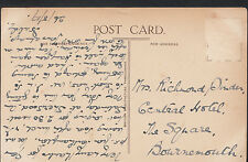 Genealogy Postcard - Family History - Pinder - Bournemouth  A1548