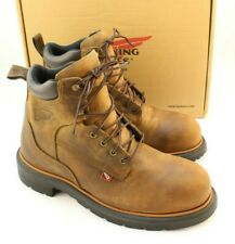 New RED WING 2212 Size 9.5 D DynaForce Steel Toe EH Men's Work Boots MSRP $224