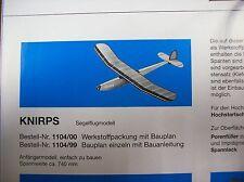 Knirps Aeronaut Holzbausatz 1104/00