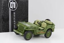 1941 JEEP Willys US Army Military Police/vert 1:18 Triple 9