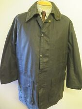 """Vintage Barbour A205 Border Waxed jacket - M 40"""" Euro 50 in Blue"""