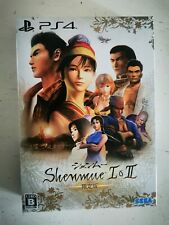 Shenmue 1et 2 Playstation 4 Japon Edition Limited Collector Cd Soundtracks