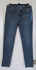 Apt. 9® Modern Fit Embellished Pocket  Skinny Jeans - Women's Sz 2 NWT MSRP $50