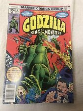 Marvel Godzilla King Of The Monsters #1 - NM August 1977 Vintage Comic Book