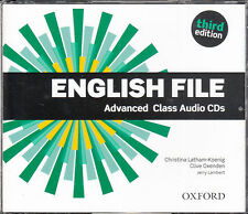 Oxford ENGLISH FILE THIRD EDITION 2015 Advanced Class Audio CD's @NEW Sealed@