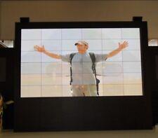 """Riesen Bildschirm !! - Steglos Videowand 126"""" Bilddiagonale 3x3 MPDP 42"""""""