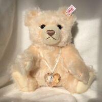 "Steiff Swarovski ""Jewels"" Mohair Teddy Bear EAN 669873, Fr 2007"