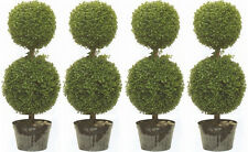 """4 ARTIFICIAL 34"""" TOPIARY TREE BOXWOOD BALL UV OUTDOOR POOL PATIO 3 5 DECK Porch"""