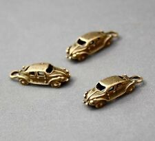 20 pcs antique bronze charm voiture