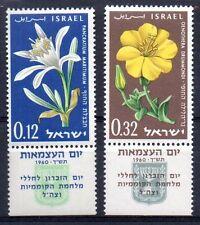 Israel - 1960 Independence / Flowers Mi. 214-15 MNH