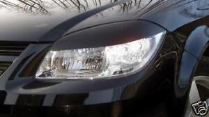 05-10 Chevy Cobalt pre-cut EYELID Headlight Overlays - Gloss Black
