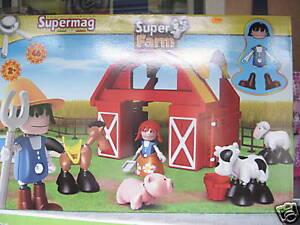 Supermag Farm - ab 2 Jahren - 46 Teile - Neu in OVP