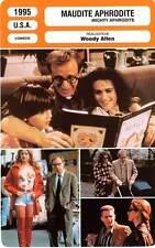 FICHE CINEMA : MAUDITE APHRODITE Allen,Sorvino,Bloom,Blair 1995 Mighty Aphrodite