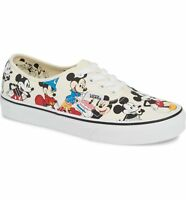 Vans Authentic (Disney) Mickey's Birthday White VN0A38EMUJ2 Men's Shoes NEW