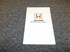 1991 Honda Accord Wagon User Guide Owner Owner's Manual EX LX 2.2L