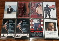 Bruce Springsteen Audio Cassette Tape Hits Born USA live Lot of 8 music albums