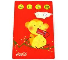 Coca-Cola Coca Cola 2004 Calendario tascabile Oroscopo Cinese Scimmia n. parlare