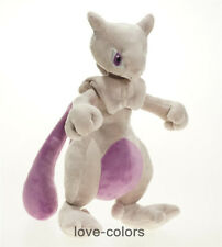 """New Pokemon Center XY Mewtwo Pink Plush Toy Soft Doll 25cm 10"""" Great Gift"""