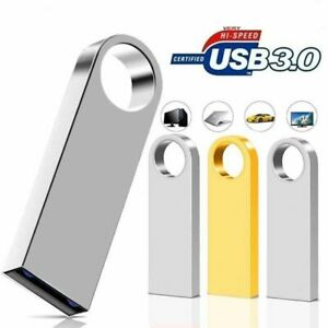 Metal Ring External Storage USB 3.0 Memory Pen Stick U Disk Flash Drive 2TB