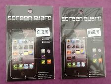 2 x  HTC DESIRE HD  LCD CLEAR ANTI GLARE SCREEN PROTECTOR COVER GUARD BRAND NEW