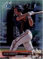 2017 Bowman Chrome Draft Refractors Baseball Card Pick