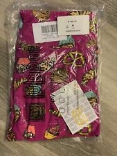 LulaRoe Pink Pastries Muffin Cupcake Pretzel OS Leggings