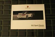 RAR VIP Prospekt/brochure Softcover Porsche 911 Sport Classic 997 06/09 franz.