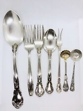 Vintage Antique Sterling Silver Spoons Forks Gorham Wallace Mexico 200g