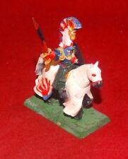 Warhammer Fantasy High Elves General On Horse Metal OOP Paint Started