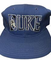 vintage 90s Starter duke Blue Devils Arch Tri-power snapback Baseball Cap Hat